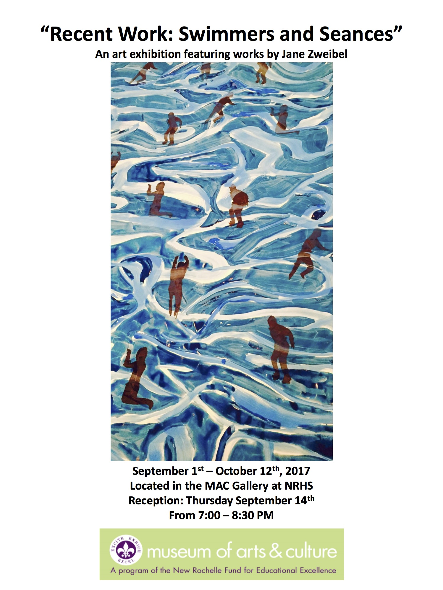 Recent Works – Swimmers and Seances