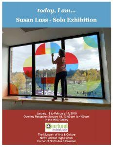 Susan Luss Exhibit Poster
